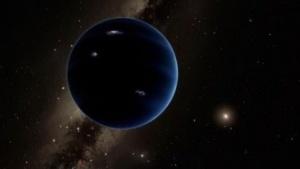 So stellt sich ein Künstler Planet 9 vor.