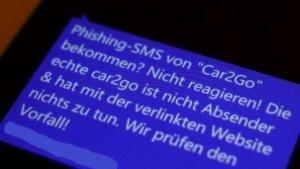 Kunden von Car2go werden mit Phishing-Nachrichten belästigt.
