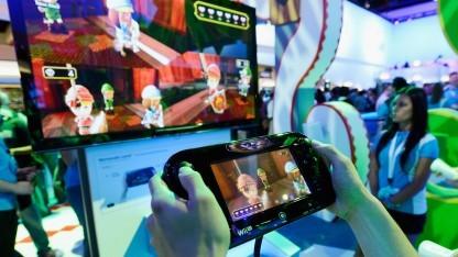 Gamepad der Nintendo Wii U