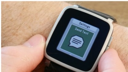 Pebble Time mit Firmware 3.9