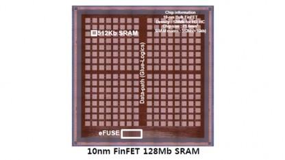 Samsung zeigt eine SRAM-Zelle mit 10FF-Herstellungsverfahren