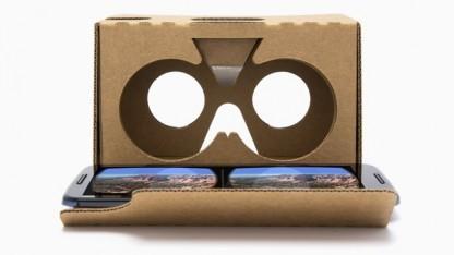 Das bisherige Cardboard ist aus Pappe.
