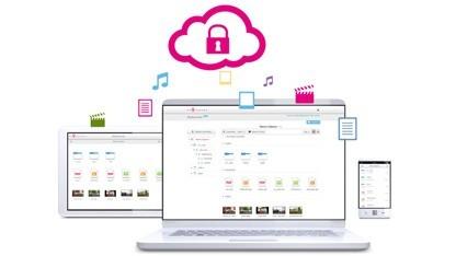Mediencenter Cloud der Telekom