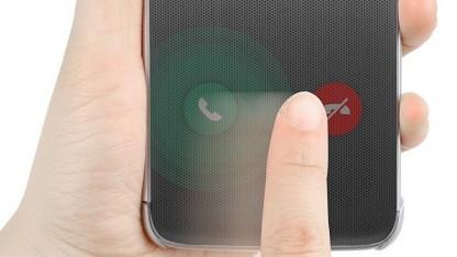 Semitransparente Klapphülle für G5-Smartphone