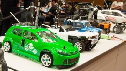 Die autonomen Modellautos des Carolo-Cups 2016
