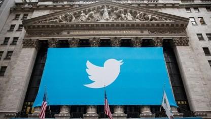 Start von Twitter an der Wall Street im November 2013