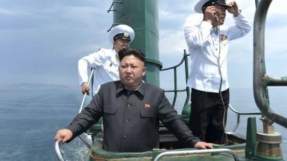 Kim Jong Un präsentiert gern als Oberbefehlshaber. Seine Untertanen schauen lieber ausländische Serien.