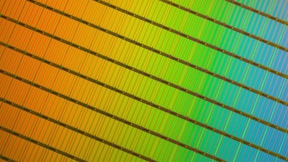 Wafer mit 3D-NAND-TLC-Flash