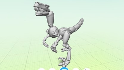 Dinosaurier in der Thingmaker-App