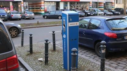 Ladesäule für Elektroautos in Berlin