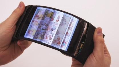 Das ReFlex beim Durchblättern eines virtuellen Buches