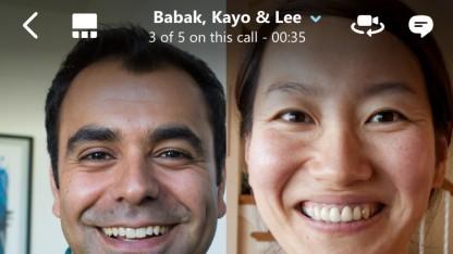Skype ermöglicht jetzt Gruppen-Videoanrufe auf Smartphones und Tablets.