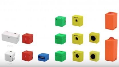 Cambits besteht aus fünf Komponententypen.