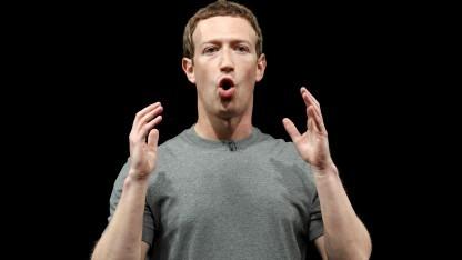 Mark Zuckerberg auf dem MWC 2016