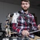 Robotik: Ein Schlagzeuger bekommt einen dritten Arm