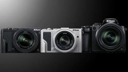 Nikon DL-Serie: 1-Zoll-Chip, 4K-Video, DSLR-Elemente