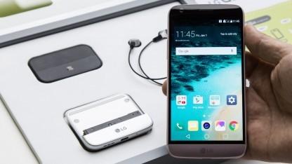 LGs G5 wird im April 2016 erwartet.