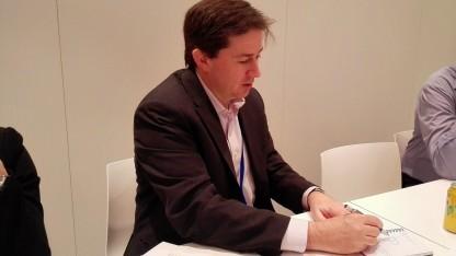 Marcus Weldon, Chief Technologie Officer bei Nokia, auf dem MWC