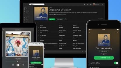 Spotify zieht mit seinem Backend in die Google-Cloud.