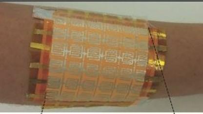 Künstliche Haut aus Papier: Bleistiftstrich misst pH-Wert