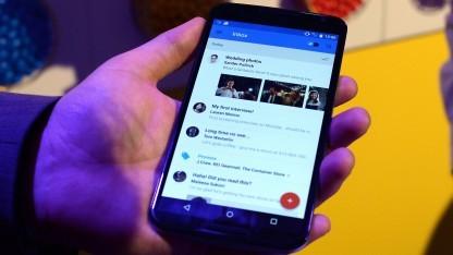 Motorola hätte das Nexus 6 mit einem kleineren Display gebaut.