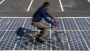 Solarstraßenbelag Wattway: Solarstom für 5 Millionen Franzosen