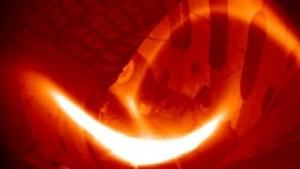 Wasserstoffplasma am Stellarator Wendelstein 7-X: 80 Millionen Grad