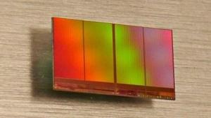 Älterer planarer TLC-Flash-Baustein mit 16-nm-Fertigung und 128 GBit