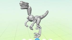 Dinosaurier in der Thingmaker-App