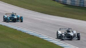 Formel-E-Renner: Der neue Standort passt perfekt.