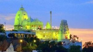 Stadtansicht von Hyderabad/Indien
