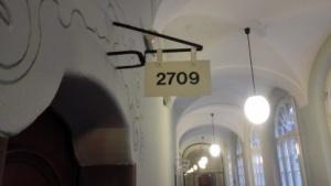 Im altehrwürdigen Gebäude des Berliner Landgerichts wird am Freitag über das Leistungsschutzrecht verhandelt.