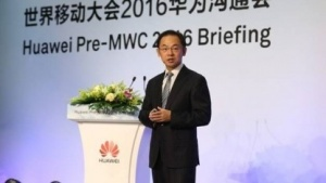 Ryan Ding, Executive Director Products & Solutions bei Huawei