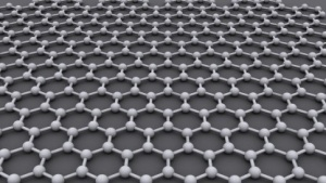 Einzelne Lagen von Atomen bei Graphen