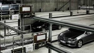 Roboterparkhaus in Aarhus: Platz für 1.000 Autos
