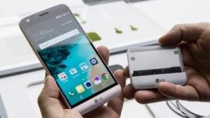 Das LG G5 und der Kameragriff