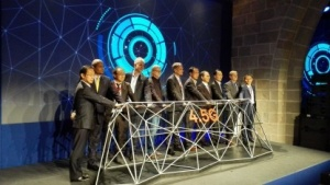 Auf dem Huawei-Event in Barcelona