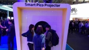 Der Pico-Projektor in Barcelona