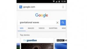 Auch die Google-Suche wird an Amp angepasst.