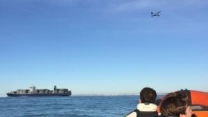 Drohne überquert Ärmelkanal: Handsteuerung nach GPS-Ausfall