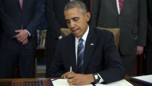 Barack Obama hat den Judicial Redress Act unterzeichnet.