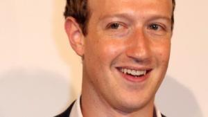 Mark Zuckerberg bei seinem Besuch in Berlin