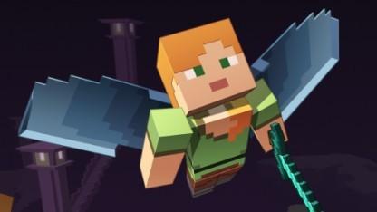 Minecraft mit Flug-Extra aus dem Combat Update