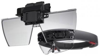 Microsofts Hololens-Optik