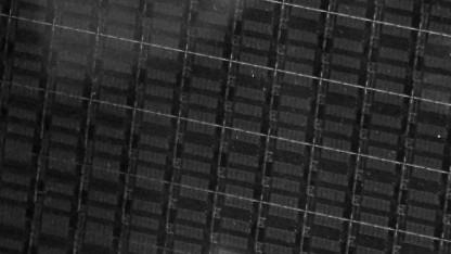 Wafer mit HCC-24-Kern-Dies in 14FF-Verfahren alias Broadwell-EP/EX