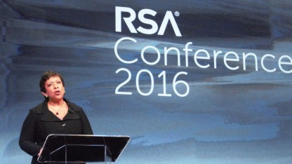 US-Justizministerin Loretta Lynch glaubt an sichere Backdoors.