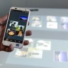 Fujitsu Creative Space angeschaut: Vom Smartphone direkt an die Wand