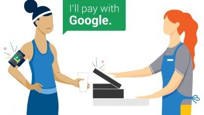 Google startet mit Hands Free Payment.