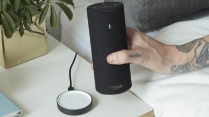 Amazons Tap hat einen eingebauten Akku.
