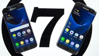 Das Galaxy S7 und das Galaxy S7 Edge bekommen ein Nougat-Update.